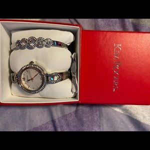 Kim Rogers Watch & Bracelet Set